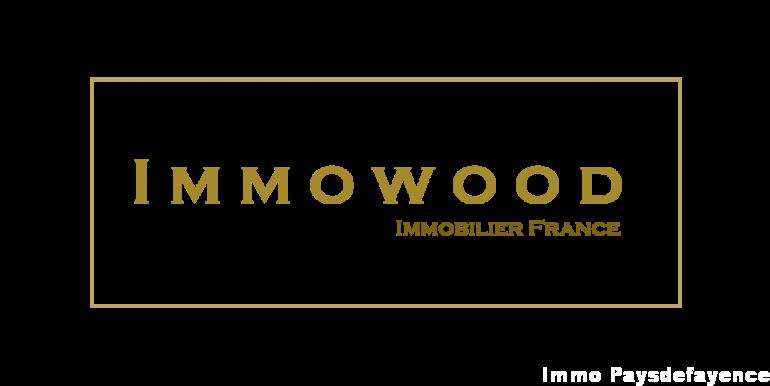 Logo Immowood seul