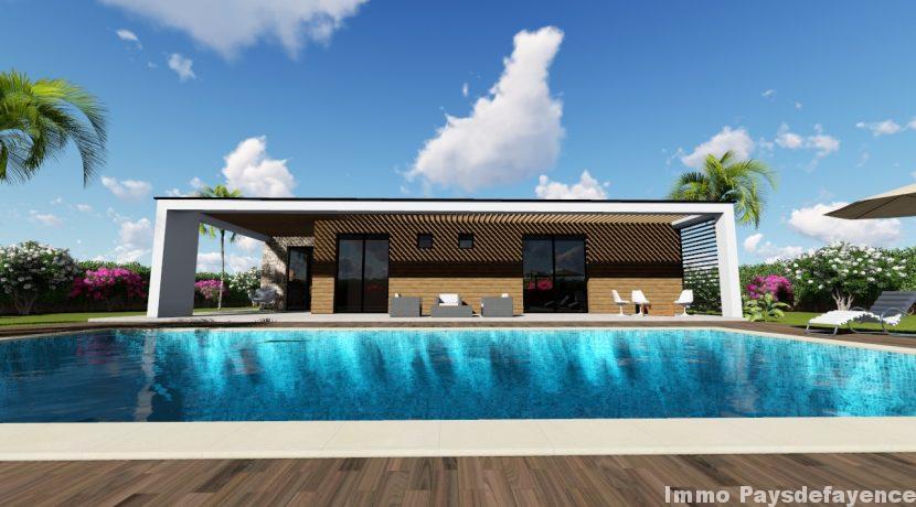 facade piscine